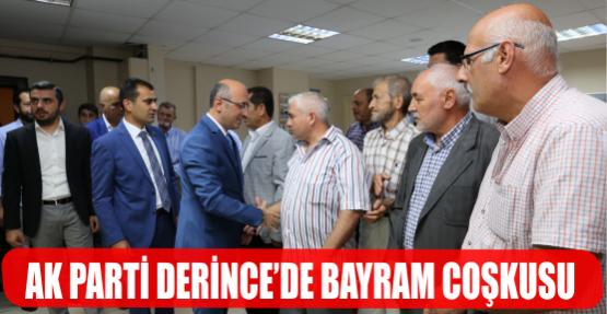AK PARTİ DEİNCE'DE BAYRAM COŞKUSU