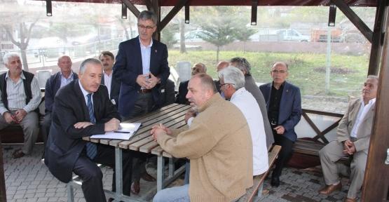 AK Parti Gölcük İlçe teşkilatı Hamidiye köyünü ziyaret etti