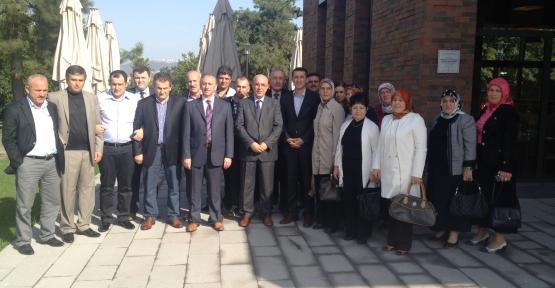 AK Parti Gölcük İlçe Yönetimi Ford Fabrikasını ziyaret etti