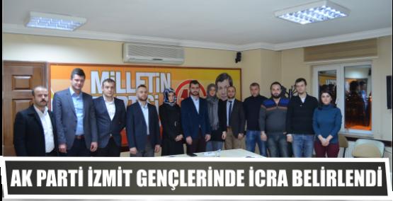 AK Parti İzmit Gençlerinde İcra belirlendi