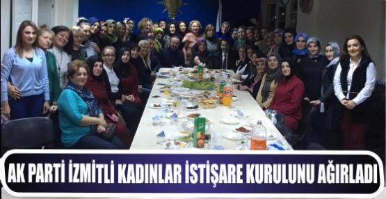 AK Parti İzmitli kadınlar İstişare kurulunu ağırladı