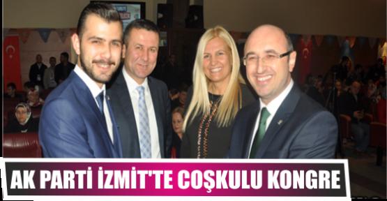 AK Parti İzmit'te coşkulu kongre