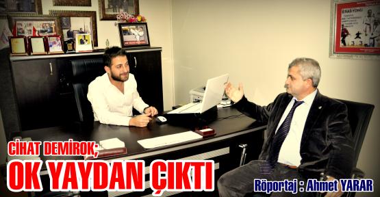 """Ak Parti Körfez Belediye Başkan Aday Adayı Demirok;"""" Ok yaydan çıktı"""""""