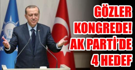 AK Parti'de 4 hedef.
