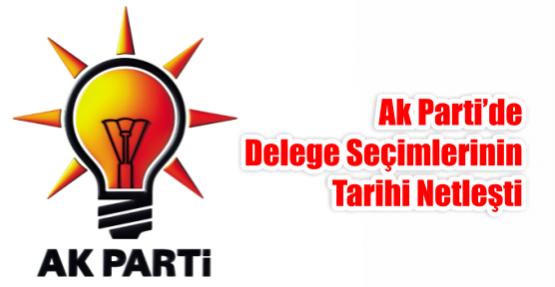 AK Parti'de delege seçimlerinin tarihi netleşti