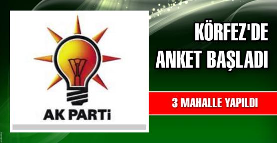 AK Parti'de son ankete başlandı
