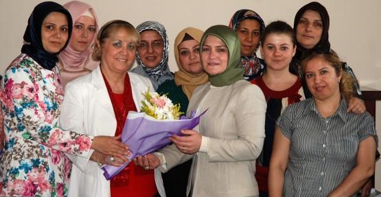 Ak Partili Kadınlar Günışığını ziyaret etti