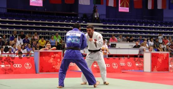 Akdeniz'den ilk madalyalar judodan geldi