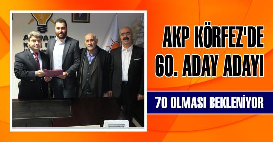 AKP KÖRFEZ'DE 60. ADAY ADAYI