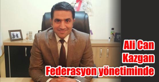 Ali Can Kazgan  Federasyon yönetiminde