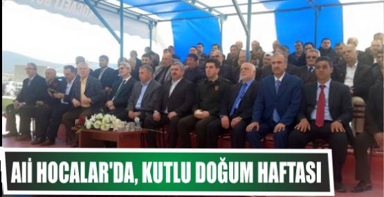 Ali Hocalar'da, Kutlu Doğum  Haftası