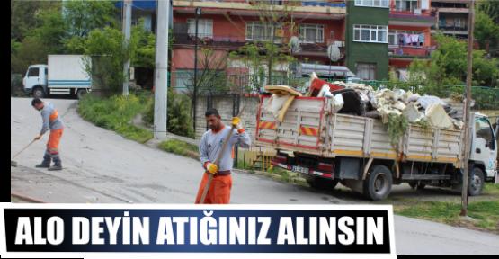 ALO DEYİN ATIĞINIZ ALINSIN