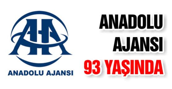 Anadolu Ajansı 93 Yaşında