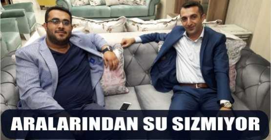 ARALARINDAN SU SIZMIYOR
