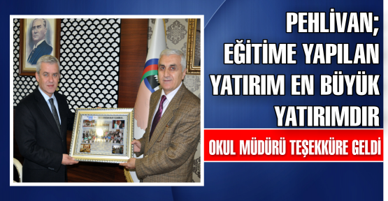 Atatürk Anadolu Lisesi Teşekküre Geldi