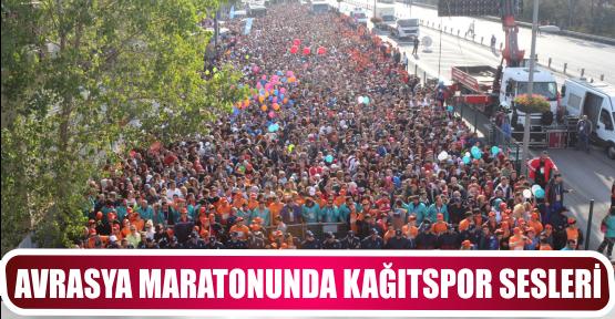 AVRASYA MARATONUNDA KAĞITSPOR SESLERİ