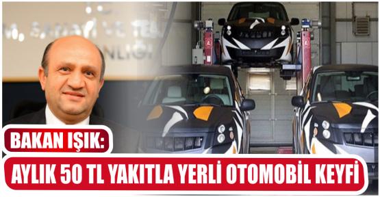 AYLIK 50 TL YAKITLA YERLİ OTOMOBİL KEYFİ