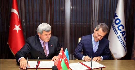 Azerbaycan'da kardeş şehrimiz olacak