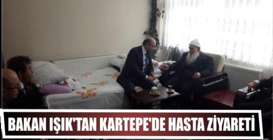 Bakan Işık'tan Kartepe'de Hasta Ziyareti