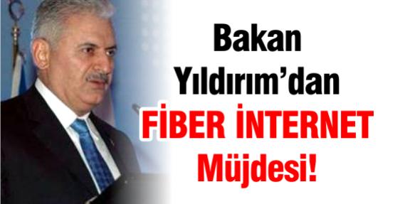 Bakan Yıldırım'dan FİBER İNTERNET Müjdesi!