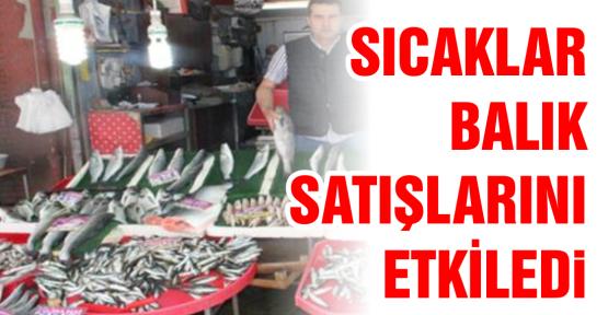 Balık satışları durdu