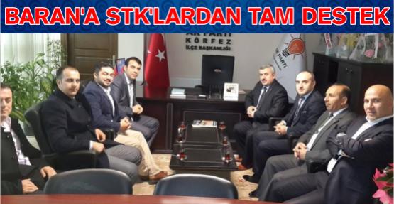 Baran'a STK'lardan Tam Destek