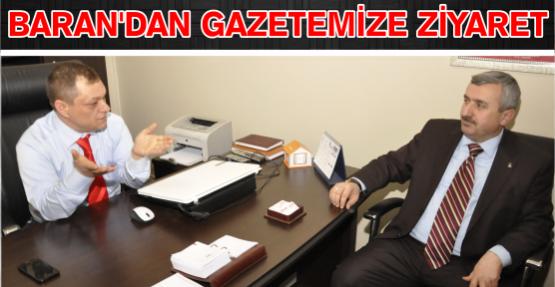 BARAN'DAN GAZETEMİZE ZİYARET.