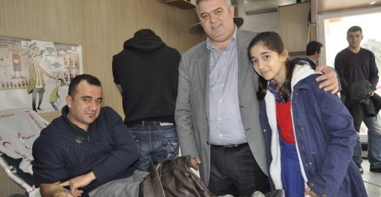 Başkan Alemdar'dan kan bağışına destek