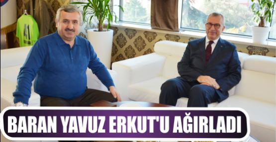 Başkan Baran Yavuz Erkut'u Ağırladı