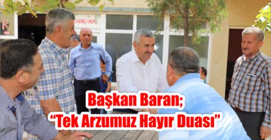 Başkan Baran;