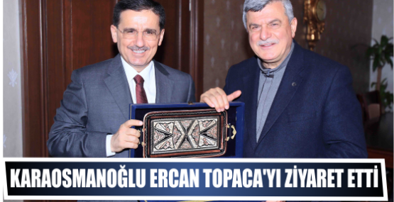 Başkan, Ercan Topaca'yı ziyaret etti
