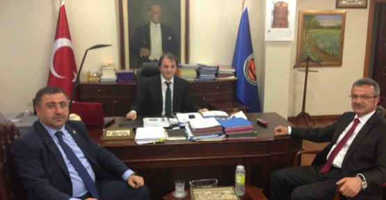 Başkan Köşker'den Başkent temasları
