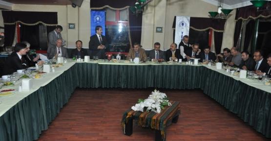 Başkan Yaman 33 belediye başkanını ağırladı.