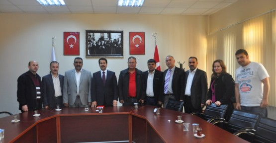 Başkan Yaman'a gönüllü STK'lardan ziyaret