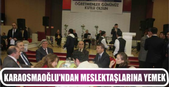 Başkandan meslektaşlarına öğretmenler günü yemeği