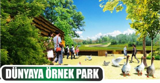 Başkanlar, Uzuntarla'daki doğal  yaşam parkını inceledi