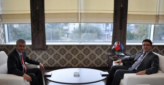 Başsavcı, Pehlivan'ı Yeni Makamında Ziyaret Etti