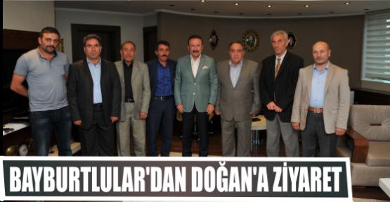 BAYBURTLULAR'DAN DOĞAN'A ZİYARET