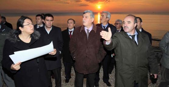 Bayramoğlu'nda denize gireceğiz