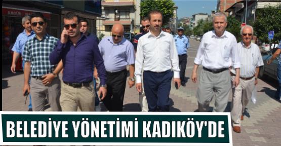 BELEDİYE YÖNETİMİ KADIKÖY'DE