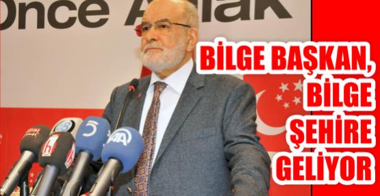 BİLGE BAŞKAN, BİLGE ŞEHİRE GELİYOR