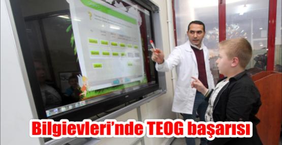 Bilgievleri'nde TEOG başarısı