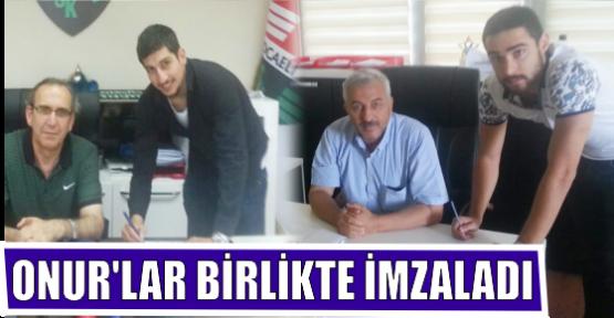 BİRLİK'TE ONUR'LAR İMZALADI