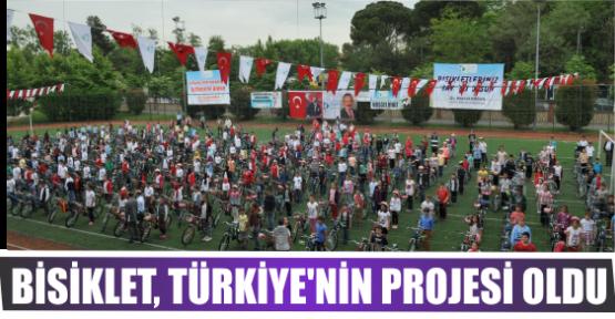 BİSİKLET, TÜRKİYE'NİN PROJESİ OLDU