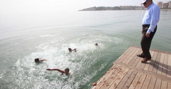 Bu yaz Bayramoğlu sahilinde yüzeceğiz