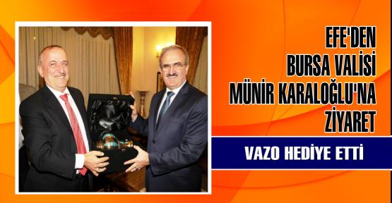 Bursa Valisi Münir Karaloğlu'na KTO Yönetiminden Ziyaret