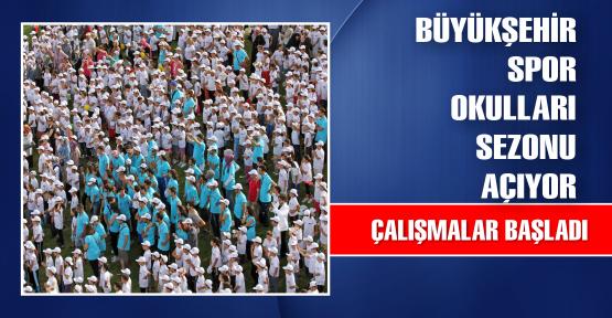Büyükşehir Spor Okulları sezon açıyor