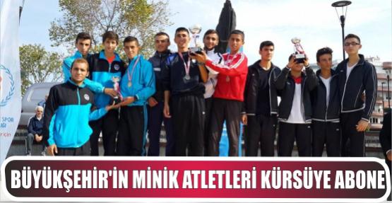 Büyükşehir'in Minik Atletleri Kürsüye Abone