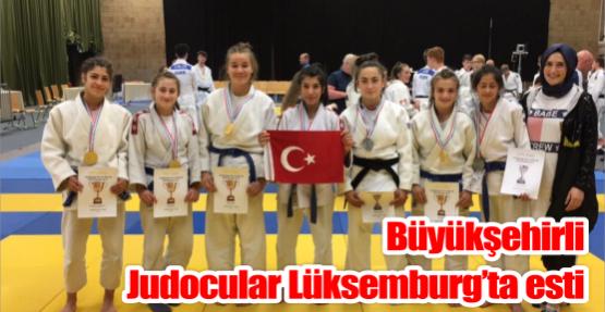 Büyükşehirli Judocular Lüksemburg'ta esti