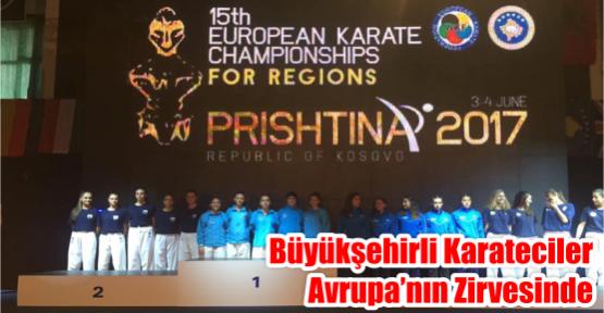 Büyükşehirli Karateciler Avrupa'nın Zirvesinde
